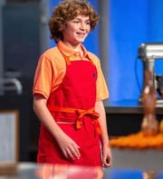 "Anthony Fontanez, 12, of Belmar is a contestant on ""Kids Baking Championship."""