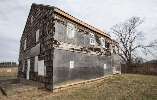 Structures at Monmouth Battlefield State Park that are steeped in history are in a state of dilapidation. Members of the Sons of the American Revolution and others are trying to save the buildings before they perish. The Sutfin House is dire need of repair.  Manalapan, NJTuesday, January 07, 2020