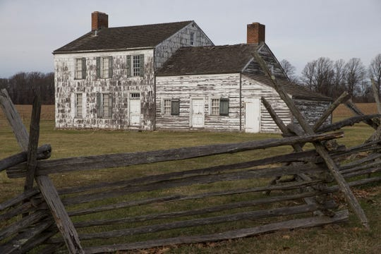 The Craig house at Monmouth Battlefield State Park