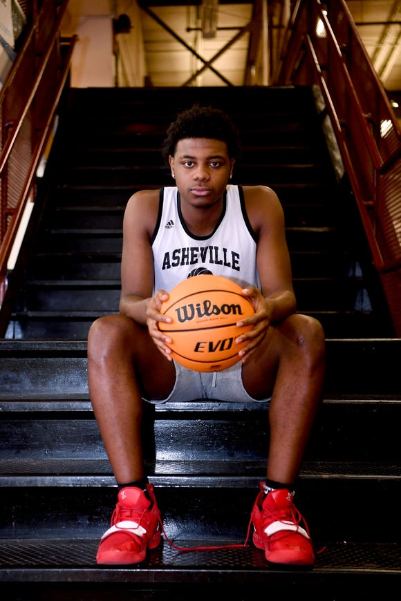 Tyrece Thompson is a senior leader for the Asheville High School Cougars. After the unexpected death of his best friend, 18-year-old Josh Folston, he has dedicated this season to his friend and is using basketball as an escape from his grief.