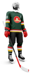 An artist rendering of the Broome County Blades jerseys that will be worn by the Binghamton Devils on Jan. 31 and Feb. 1.
