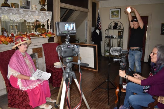 """Filmmaker Jennifer East of B Uneke Productions produced """"Forgotten Enchantress,"""" a documentary about Green Gables historic house in Melbourne. The film will premiere Jan. 11, 2020 at the Oaks 10 Theater. Visit greengables.org."""