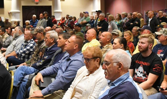"The Republican Liberty Caucus of Central East Florida and several other organizations hosted a Jan. 6 ""Gun Rights Preservation Forum"" to push back against efforts they believe limit the Second Amendment for law-abiding citizens. The standing room only event was held at the Holiday Inn Express Space Coast Convention Center in Cocoa."