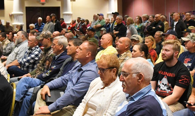 """The Republican Liberty Caucus of Central East Florida and several other organizations hosted a Jan. 6 """"Gun Rights Preservation Forum"""" to push back against efforts they believe limit the Second Amendment for law-abiding citizens. The standing room only event was held at the Holiday Inn Express Space Coast Convention Center in Cocoa."""