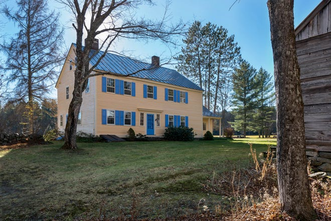 Deer Meadow Farm in Andover sits on 91 acres.