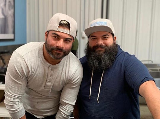 Corpus Christi natives Josh Pena (left) and Joaquin Pena (right) opened Islla St. Brewing Co. in San Antonio. Their brewery features traditional and contemporary Mexican ingredients in their draft beer.