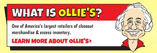 Ollie's Bargain Outlet is opening April 15 in the former Toys 'R' Us store space at 1220 Airline Road.