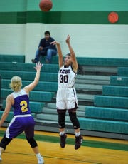 Mathis junior girls basketball player Lily Ybarra was named the Caller-Times high school athlete of the week for Dec. 9-14.