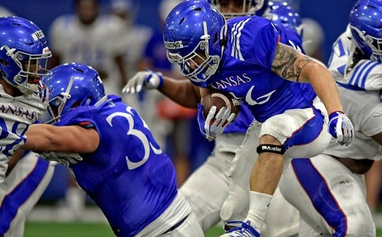 Somerville graduate Robbie Fiorentino is making the most of his opportunities as a walk-on at the University of Kansas.