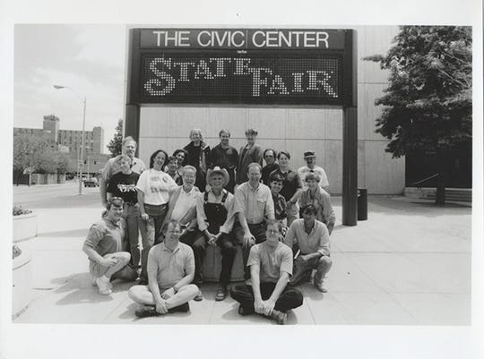 """1995. The pre-Broadway national tour of Rodgers and Hammerstein's """"State Fair"""" opens at the Civic Center. The production starred actors John Davidson and Kathryn Crosby and paved the way for more Broadway shows to open their national tours at the Civic Center."""