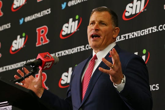 Rutgers University football coach Greg Schiano will take a 10 percent salary cut over a four-month period.