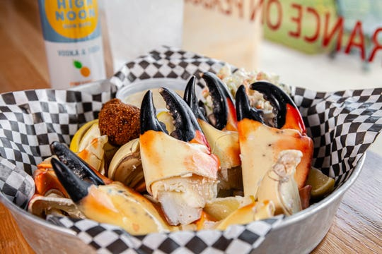 Stone Crab Claws at Hazel's Crab Trap
