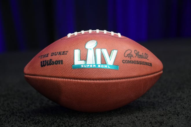 Super Bowl LIV football