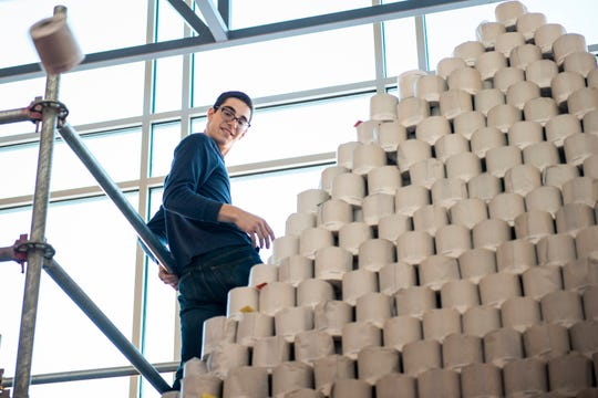 Mich. high school wants to make Guinness World Record toilet paper pyramid