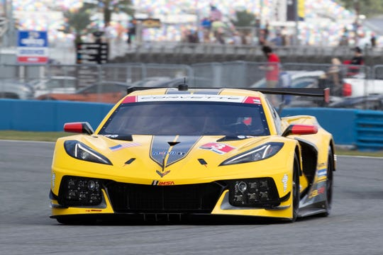 Corvette Racing has entered two C8.Rs for Daytona - the #3 (pictured) driven by Antonio Garcia, Jordan Taylor and Nicky Catsburg; and the C8.R #4 driven by Oliver Gavin, Tommy Milner, and Marcel Fässler.