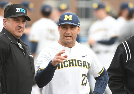 Erik Bakich enters his eighth season as Michigan's baseball coach.
