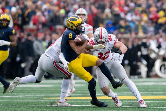 Michigan lost its eighth straight game to Ohio State last November.