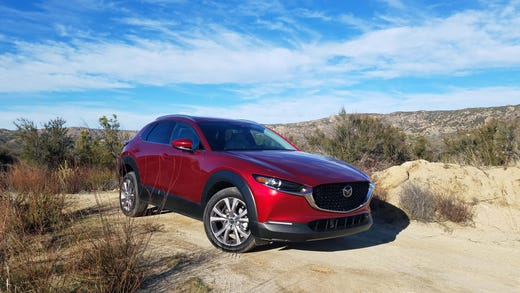 The subcompact-plus 2020 Mazda CX-30 is the Japanese brand's fourth entry in the SUV market — placed between the tiny CX-3 and bigger, compact CX-5.