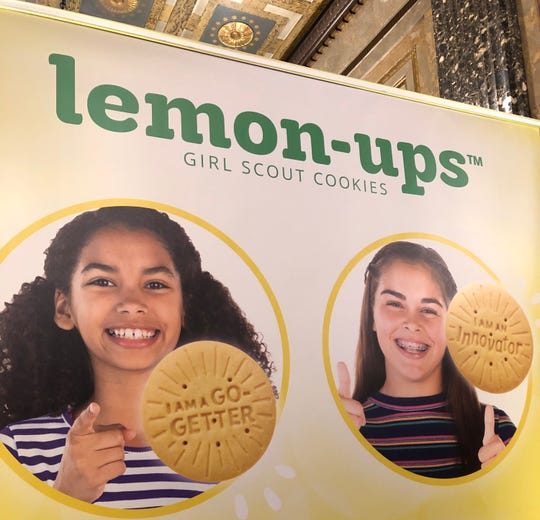 The new Girl Scouts cookie is Lemon-Up.
