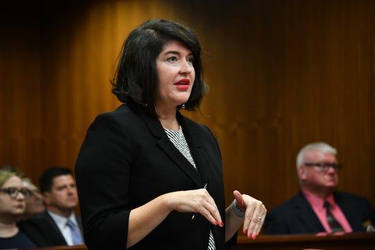 Chief Deputy Attorney General Laura Moody.