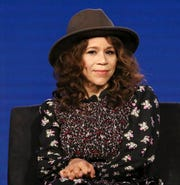 Rosie Perez attends the NBCUniversal Television Critics Association Winter Press Tour on Tuesday, Jan. 9, 2018, in Pasadena, Calif. Perez told the New Yorker she counseled Annabella Sciorra over her alleged abuse by Weinstein.
