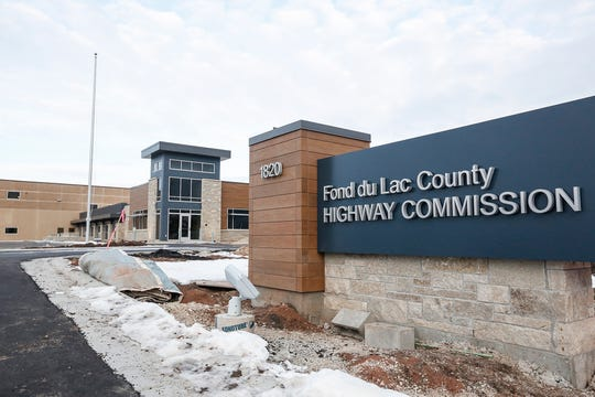 The new Fond du Lac County Highway Shop on Tuesday, Jan. 7, 2020, on south Hickory Street, south of I-41.