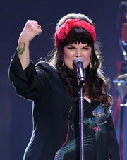 Ann Wilson of Heart performs onstage during the 2019 iHeartRadio Music Festival in Las Vegas.