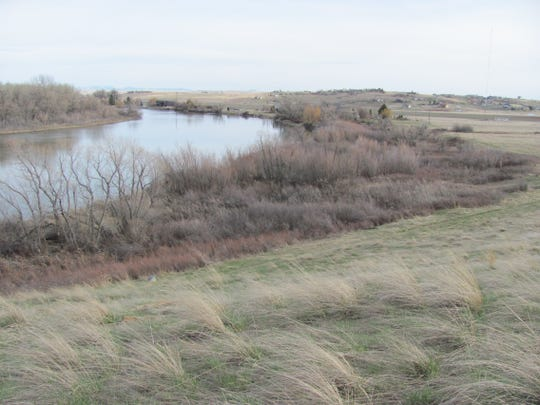 Open land off of Fox Farm Road on the edge of Great Falls abuts the Missouri River. A group hopes the city will take an interesting in conserving the open space and public access.
