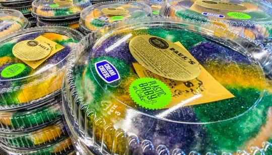 Corner Market offers a variety of Paul's King Cakes, out of Picayune, at their grocery store through Mardi Gras.