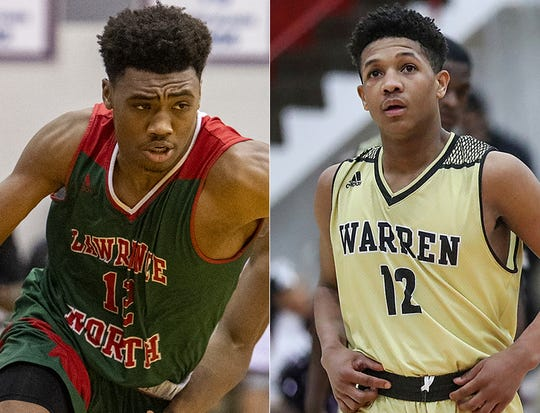 Tony Perkins and Lawrence North take on Malik Stanley and Warren Central in the MIC Game of the Week on Friday.