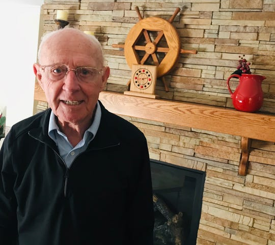 Keith Dougherty is now 93 and lives in Elkhart.