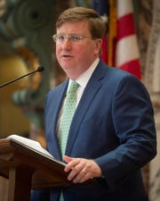 Miss. Lt. Gov. Tate Reeves will be sworn in as governor of Mississippi on Jan. 14, 2020.