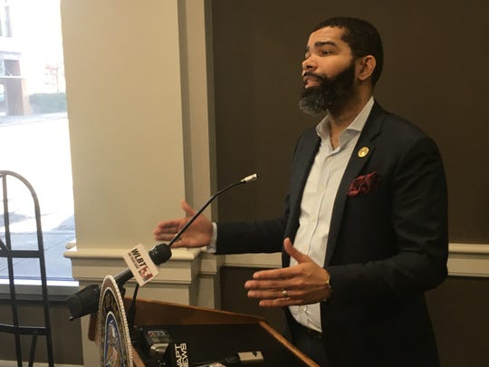 Jackson Mayor Chokwe Antar Lumumba announced the city will embark on a workforce leadership academy initiative on Jan. 6, 2020, a partnership with the Aspen Institute and W.K. Kellogg Foundation.