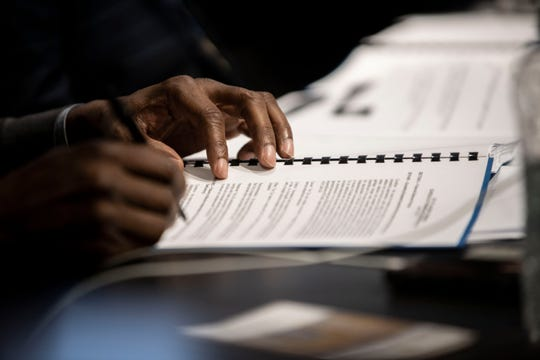 The Jackson City Council discussed its audit at is Jan. 7, 2020 meeting in Jackson, Tenn/