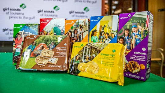 Girl Scout cookies that will be for sale starting Friday, Jan. 10, 2020.