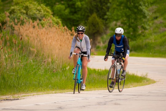 BayCare Clinic Century Bayshore to Lakeshore ride through Brown County, Door County and Kewaunee County on June 2, 2018.