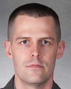 Preston Brooks, a former trooper with the Mansfield post of the Ohio Highway Patrol, was acquitted of all charges Friday in Richland County Common Pleas Court. Brooks was fired on Dec. 27, 2019, and faced felony charges. (Submitted photo)