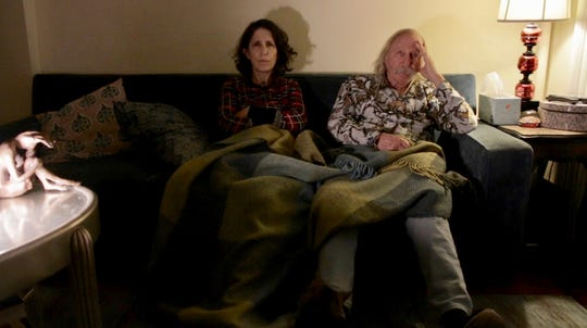 """Father and daughter: Lynne Sachs and Ira Sachs Sr. in """"Film About a Father Who."""""""