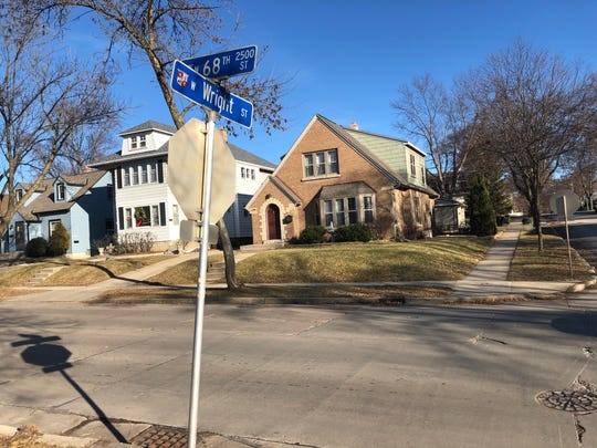 This intersection, at 68th St. and Wright St., was the location of a hit and run involving three fifth grade students at Roosevelt Elementary School on Friday, Jan. 3.