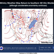 Forecasters are closely watching the potential for a winter storm to affect southern Wisconsin this weekend.