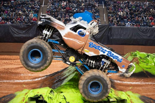 Bucking Bronco is one of five monster trucks coming to Garrett Coliseum on Saturday for the Monster X Tour.