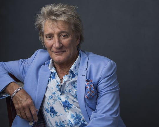 Stewart Rod Stewart poses for a portrait on Wednesday, Aug. 8, 2018, in New York.