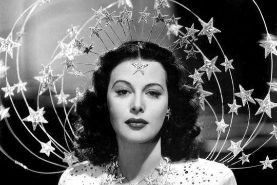 "Movie star Hedy Lamarr is profiled in the documentary ""Bombshell."""