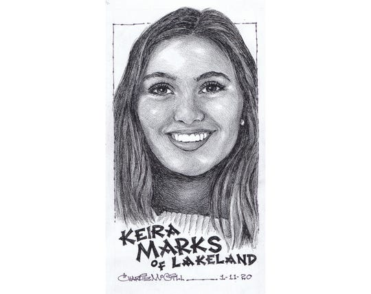 Keira Marks, Lakeland girls basketball