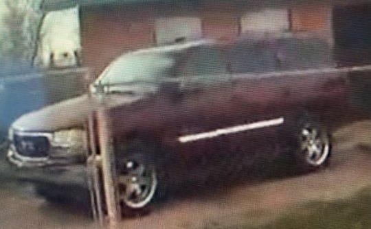 Suspect is believed to be driving an unknown year maroon GMC Yukon SUV with an unknown license plate number.