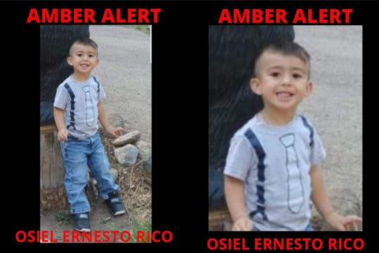 Osiel Ernesto Rico, a three-year-old Hispanic male, two-feet-six inches tall, weighing approximately forty pounds, with brown hair and brown eyes, was reported missing in Roswell, New Mexico.
