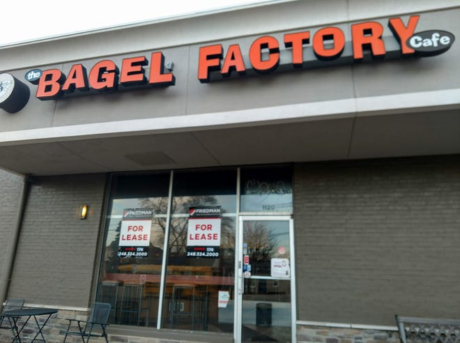 The Bagel Factory Cafe in Birmingham has closed.