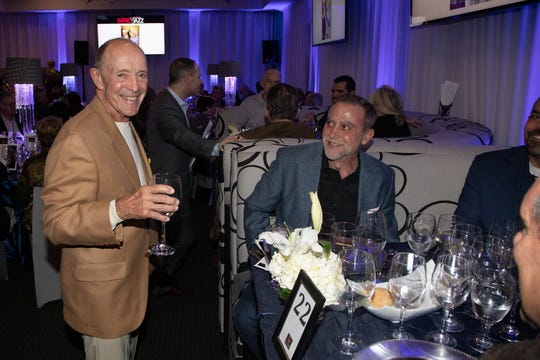 Jerry Keller and Ron Burns enjoyed the 2019 event.