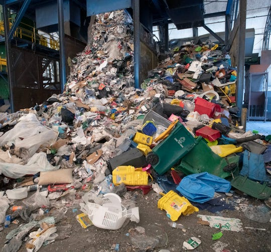 The Emerald Coast Utility Authority's Materials Recycling Facility processes around 40,000 tons of materials per year and between 8% to 10% of it is considered contaminated.