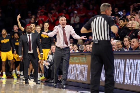 Arizona State Sun Devils head coach Bobby Hurley could be in for a rough second half of the season.